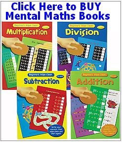 Buy mental maths workbooks for children - books for sale